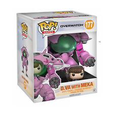POP! Games #177 - Overwatch - D.VA & Meka Super Sized Vinyl Figure Funko