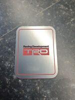 TRD TOYOTA GT86 RACING DEVELOPMENT HIGH PERFORMANCE TECHNOLOGY EMBLEM