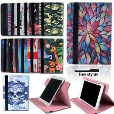 For ARCHOS 70 80 101 Tablet - Smart Folio Leather Rotating Stand Cover Case