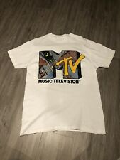 Vintage 1991 MTV Music Television Shirt Promo Rap Hip Hop New York City Large