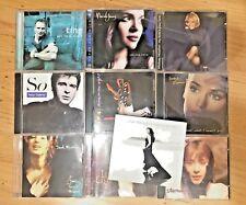 Lot of 10 CDs  Soul Pop - Sting, W. Houston, Norah Jones, P Gabriel, O'Connor..
