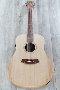 Cole Clark Fat Lady 1 Acoustic-Electric Guitar Bunya Top Queensland Maple Back