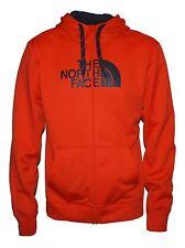 New The North Face Mens Surgent Half Dome FZ jacket Orange Medium hoodie