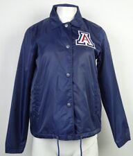Arizona Wildcats Women's Starter Blue Snap Jacket NCAA M