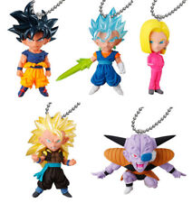 BANDAI Dragonball DBZ Super UDM Burst 31 Keychain Figure set of 5