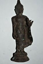 "Orig $699 Nepal Shaman Bronze Buddha Figure 7"" Early 1900S prov"