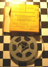 1957 small 8mm Home Movie Chicago Airport American Airlines & Aerial views