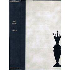CLEM Henry MULLER Prix Interallié Edition Numérotée N°0679 Amis Strasbourg 1961
