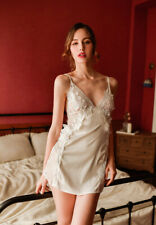 XS-S Naughty Things Sexy Lace Bridal Sleepwear Slip Lingerie White Japanese #423