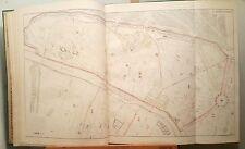 Paris XVI ème - Baron Haussmann Très Rare Plan de 1868 au 1/5000 (63x103 cms)