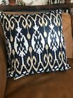"""New In Package Vagabond Pillow Textiles IKAT  Bohemian Urban Outfit Farm 18"""""""