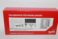 Herpa 084468  Koffer für LKW 7,5 t mit Ladebordwand 1:87 H0 NEU in OVP