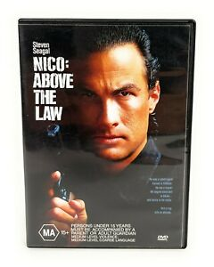 Nico: Above the Law (DVD, 1988) Steven Seagal Region 4 Free Postage