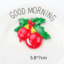 12pcs Fridge Magnets Creative Christmas Lightweight Resin Sticker for Home Hotel