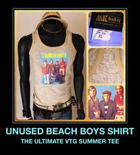 70s Beach Boys Endless Summer Concert Tour Cali Rock Brian Wilson vtg DS T-Shirt