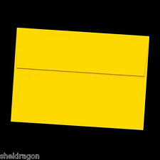 25 A2 ENVELOPES for 5.5x4.2  Cards Invitations Announcements * Sunflower YELLOW