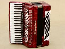 Very Nice German Accordion Weltmeister Caprice 120 bass Including case .