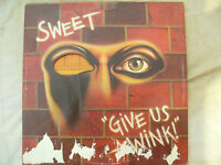 SWEET LP GIVE US A WINK uk rca orange original rs 1036