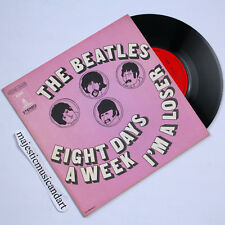 "RARE FRANCE ART COVER THE BEATLES EIGHT DAYS A WEEK / LOSER 7"" VINYL NM RARE"