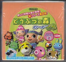 Animal Crossing + Card e+ Collection Card Series 2 Sealed Box Japanese
