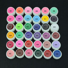 36 Potes Color Puro Elite 99 Soak Off UV Gel Arte en Uñas Puntas de extensión KIT de Manicura