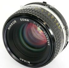 NIKKOR 50mm 1:1.8 Nikon Ai-S SHARP Prime Lens for 35mm FILM SLR & Digital DSLR