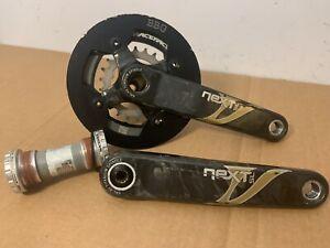 Race Face Next SL Carbon 2x 10 Speed Crankset Titanium Spindle Mountain Bike xtr