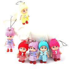 1x Beautiful Cute  Kids Toys Soft Interactive Baby Dolls Toy Mini Doll For Girls