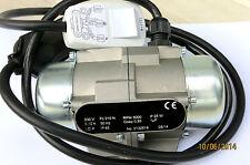 Unwuchtmotor 230  Volt mit Kabel und Stecker / VX 20 /Zentrifugalkraft:21kg /