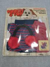 NOS Vintage Pound Puppy Clothes Outfit Winter Warm Up Scooby Doo Wrinkles Totsy