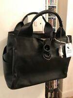 Clarks 'Talara Star' black soft leather large shoulder handbag BNWT