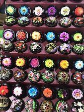 Jabón Tallada A Mano-Hecho a mano en el mercado tailandés-muchos colores diferentes