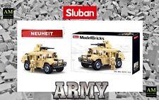 SLUBAN ARMY BAUSET - GEPANZERTES FAHRZEUG - M38-B0837 - NEU/OVP