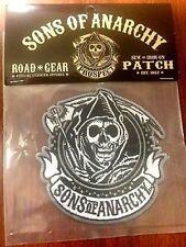 Authentic Sons of Anarchy Kreis REAPER LOGO SOA SAMCRO Nähen/kleben auf Patch
