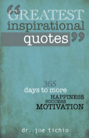 Tichio Joe-Greatest Inspirational Quotes (US IMPORT) BOOK NEW