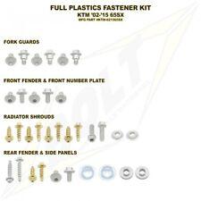 BOLT USA FULL PLASTICS FASTENER BOLT KIT KTM SX65 2002 - 2015