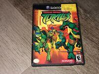 Teenage Mutant Ninja Turtles TMNT Nintendo Gamecube Wii Complete CIB Authentic