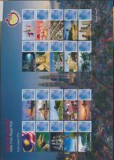 XC95230 Great Britain 2014 1st class Kuala Lumpur expo XXL sheet MNH