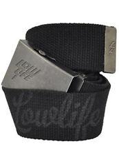 Lowlife atado Cinturón en Negro