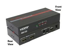 Hall Research SP-HD-2A 2-Ch HDMI Splitter w Analog and Optical Audio Output