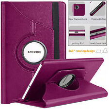 """For Samsung Tab A7 (10.4"""") SM: T500 T505 Leather 360 Rotating CASE Cover (2020)"""