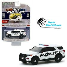 Greenlight Hot Pursuit 2020 Ford Police Interceptor Utility Show Vehicle (White)