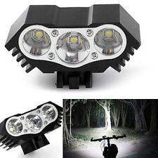 10000 Lumen 3 x CREE XM-L T6 LED Bicycle Bike HeadLight Head Light Lamp Torch