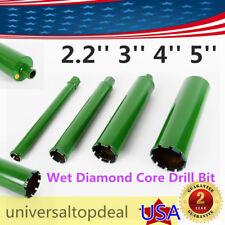 4X 2.2'' 3'' 4'' 5''Wet Diamond Core Drill Bit for Concrete Green Series Us Hot