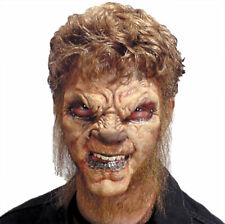 Morris Costumes Were Wolf Foam Appliance Latex Halloween Mask. RU18377