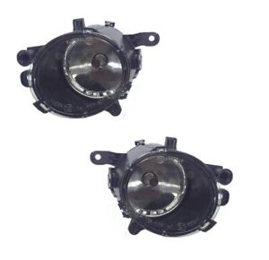 Pair Left Right Front Drive Fog Light Lamp fits Buick Regal 14-17