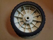 """New 8"""" X 2"""" X 1/2"""" Plastic Wheel For Lawn Mowers & Other Applications"""