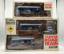 Highway Replicas 1:64 Scale Tanker Road Train 3-Pc Set 120069/12991 MIB/New