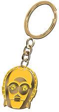 Star Wars C3 - PO Metal Key Ring  Brand New & Licensed - Aussie Stock