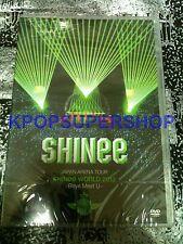 SHINee Japan Arena Tour World 2013 Boys Meet U 2 DVD New Korean All Region